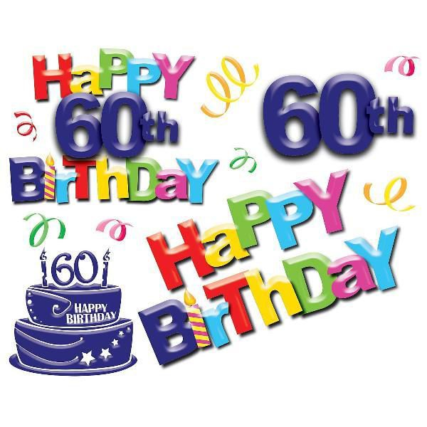 60th Happy Birthday Image