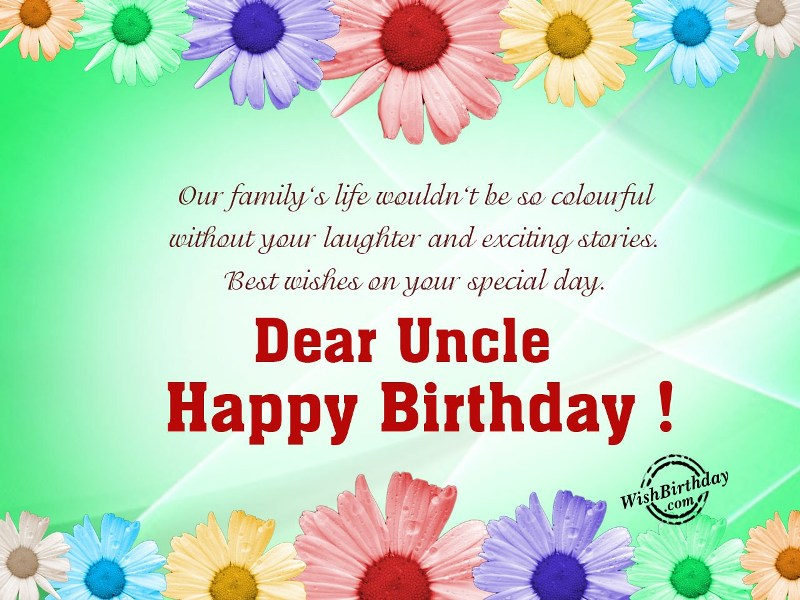 30 warm birthday wishes for my uncle m4hsunfo