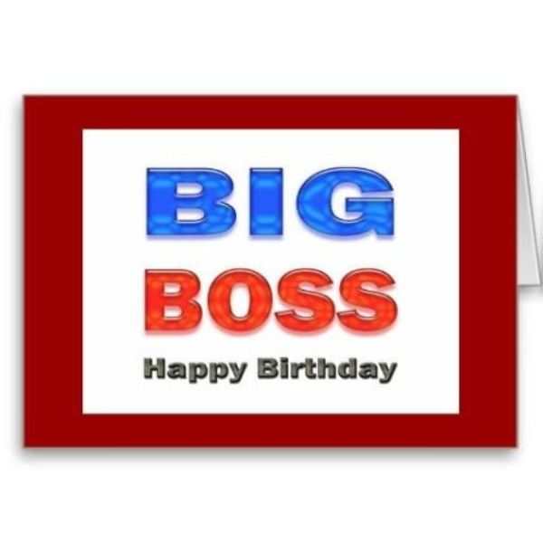 45 Warm Birthday Wishes For Our Best Boss