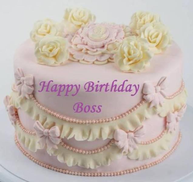 Boss Birthday Cake Image