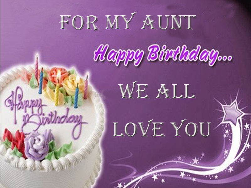 35 Birthday Images For Lovely Aunt