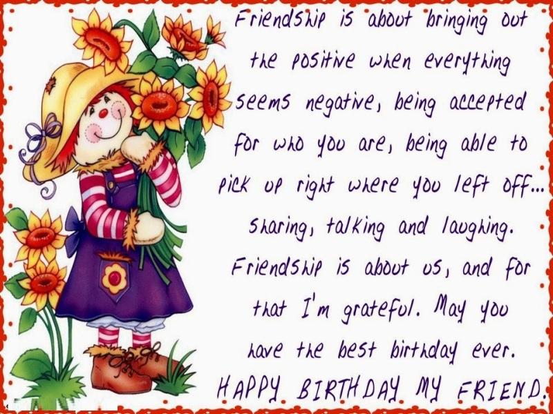 40 Warm Birthday Wishes For My Amazing Friend