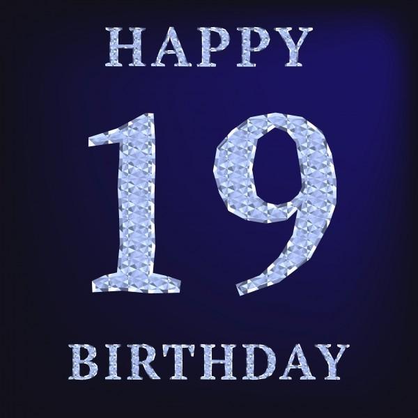 Happy 19th Birthday Cake Gif Free Download Download On Funimada Com
