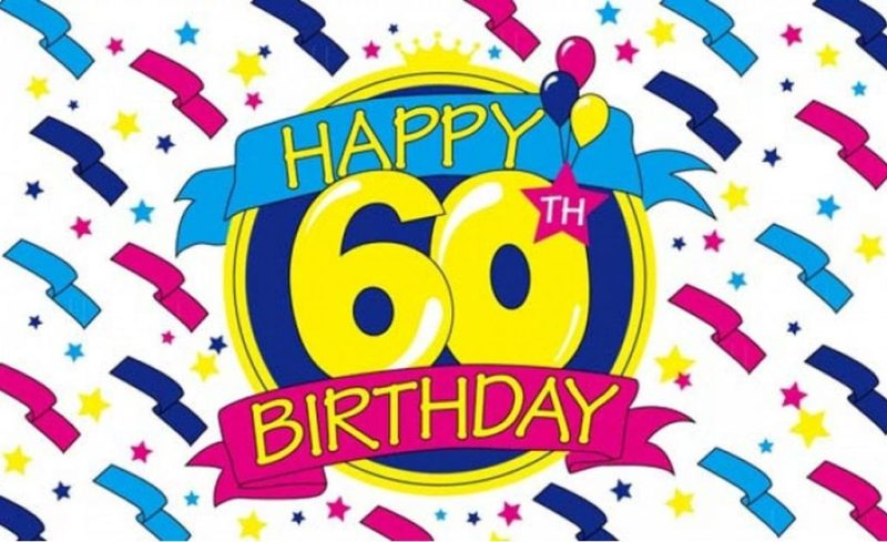 25 Images For 60th Birthday