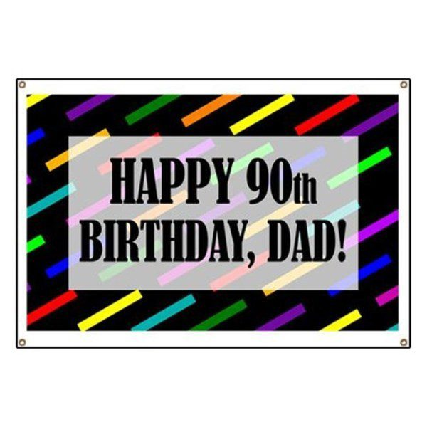 Happy 90th Birthday Dad