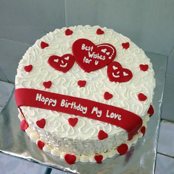 Happy Birthday My Sweetheart Cake Images Labzada Wallpaper