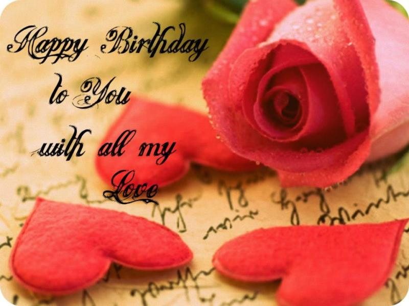 35 birthday greetings to you my love happy birthday to you with all my love m4hsunfo