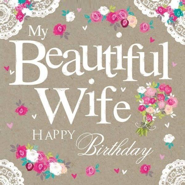 my beautiful wife happy birthday