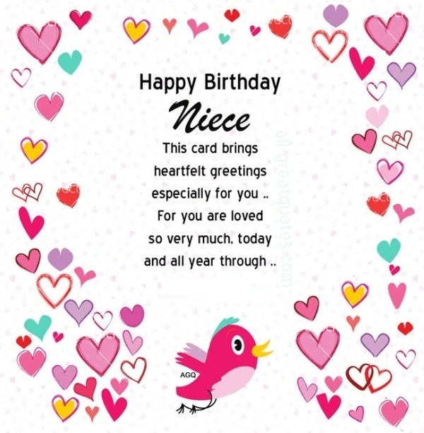 25 Birthday Wishes For My Sweet Niece