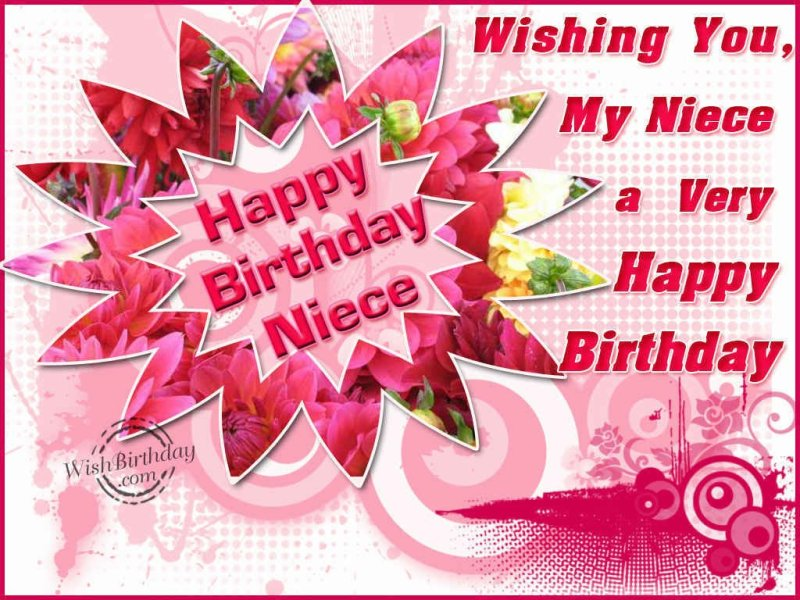 Wishing You My Niece A Very Happy Birthday